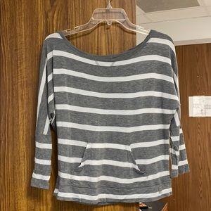 FINAL PROCE DROP New York & Company Striped Shirt